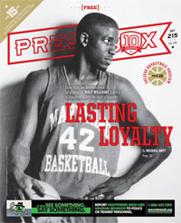 Issue 215: Cover November 2015 PressBox