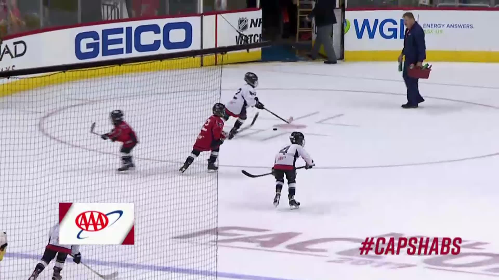 #CapsHabs Mites On Ice 10/7/17