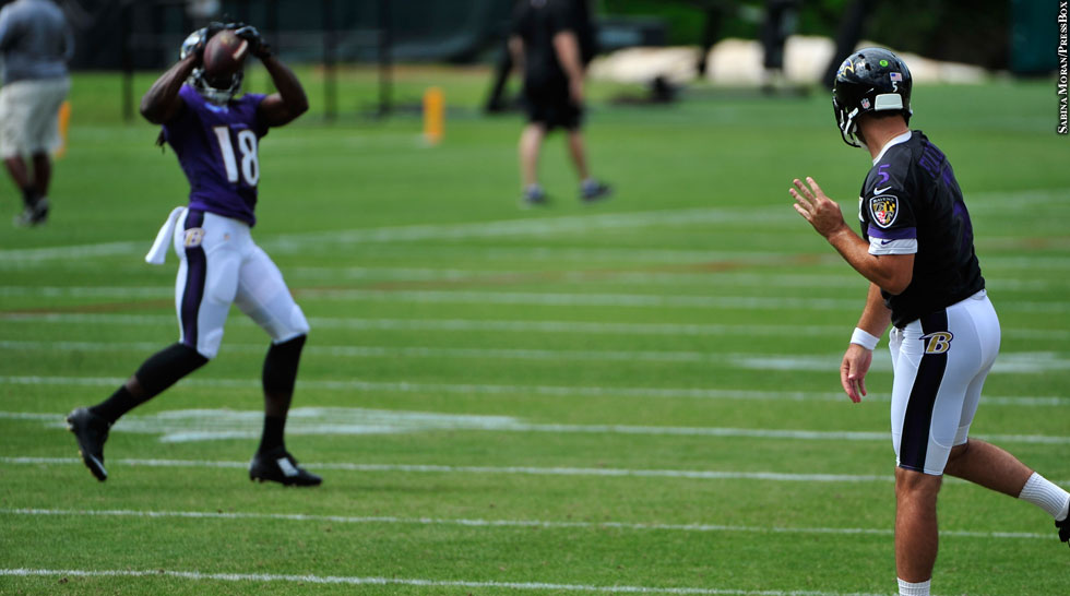 Issue 212: Ravens 2015: Breshad Perriman, Joe Flacco (training camp)