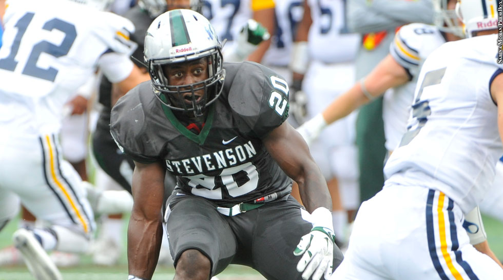 Issue 214: Stevenson Football 2015: Resheed Lashley