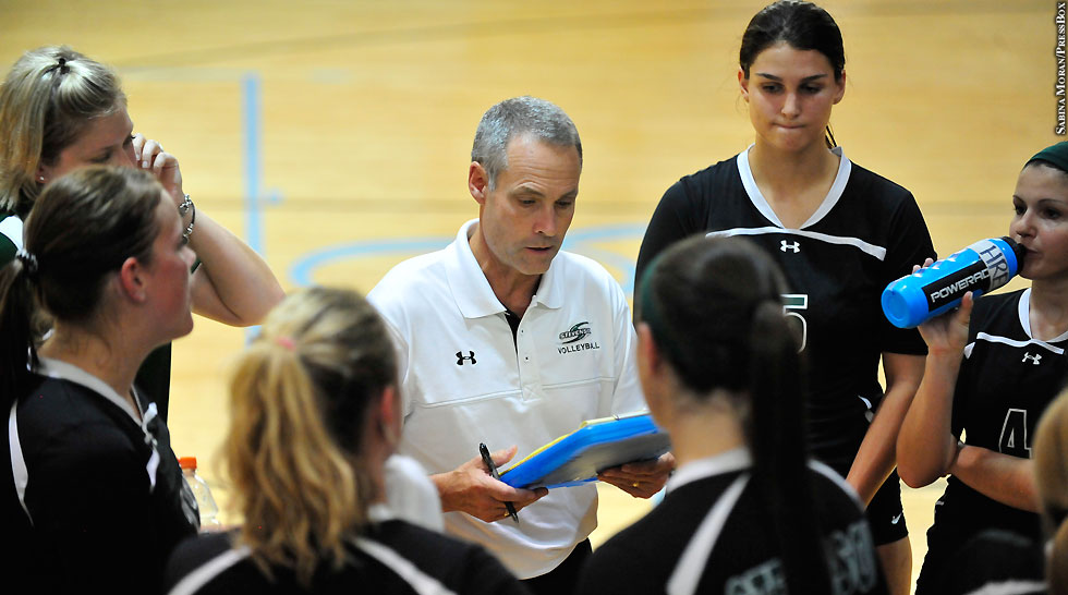 Issue 210: Stevenson Women's Volleyball Coach Dave Trumbo