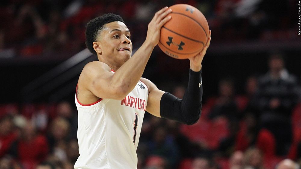 Maryland Terps Basketball 2018-19: Anthony Cowan Jr. (shooting)