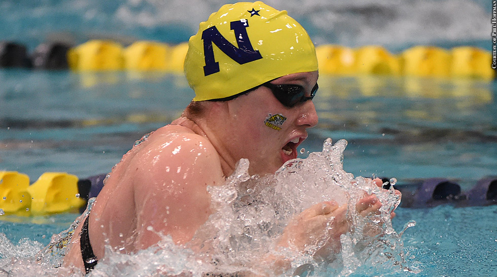 Issue 217: Navy Swimming 2015: Lauren Barber