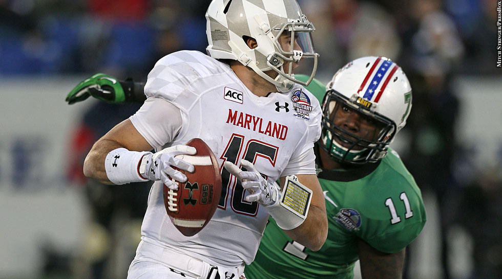Terps 2013: Military Bowl vs. Marshall