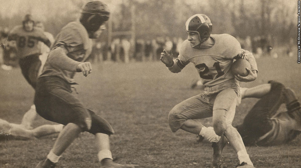 Issue 214: Gilman vs. McDonogh: 1950 Game