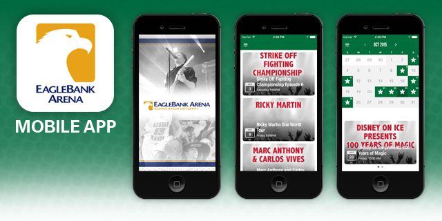 EB Arena mobile app image