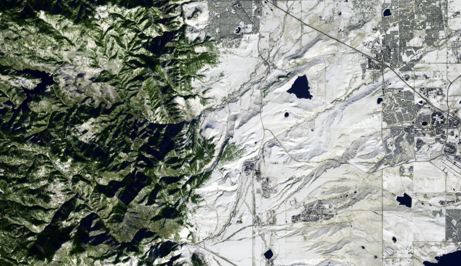 Rocky Flats satellite image