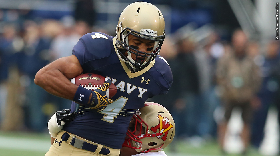 Issue 213: Navy Football 2015: Jamir Tillman