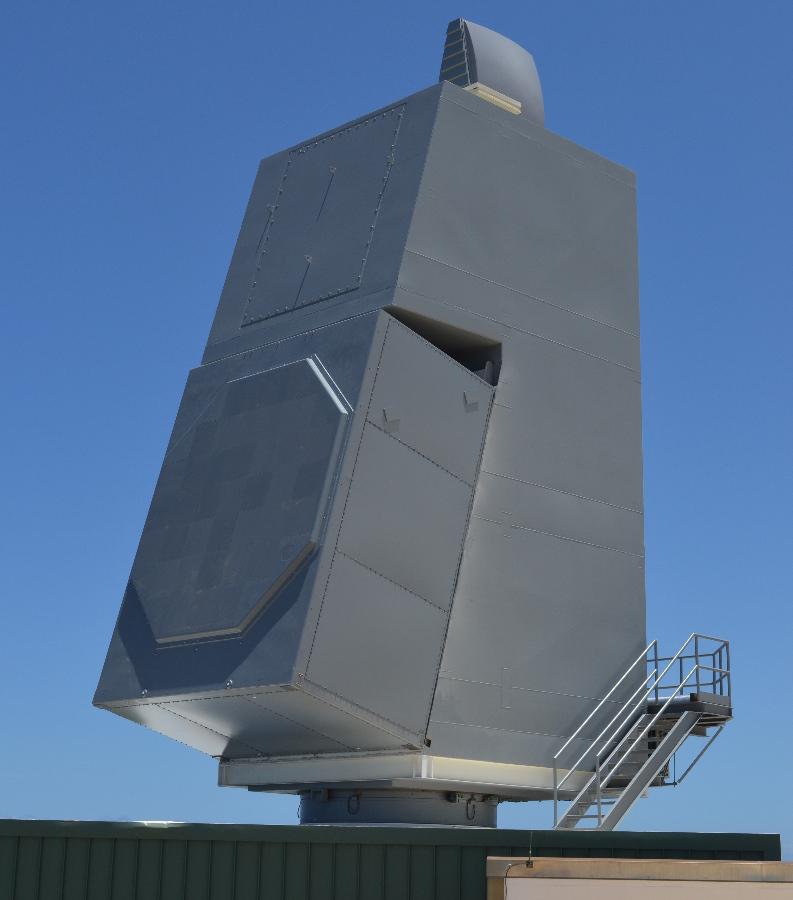 AMDR test radar