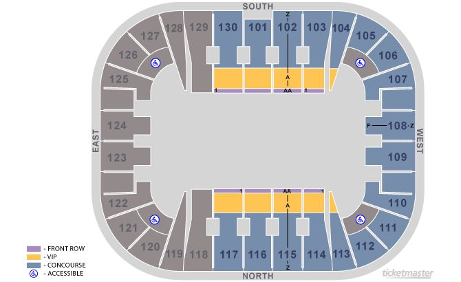 TM circus 2015 map