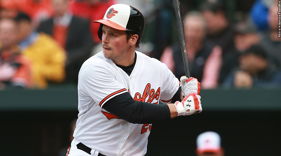 Orioles 2015: Travis Snider (at bat 2)