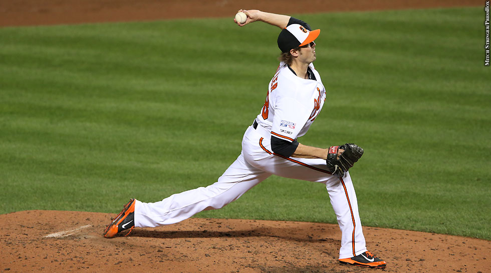Orioles 2014: Andrew Miller (ALDS Game 1, side)