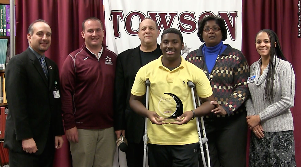 GBMC Hero: Towson High School Miles Stroman
