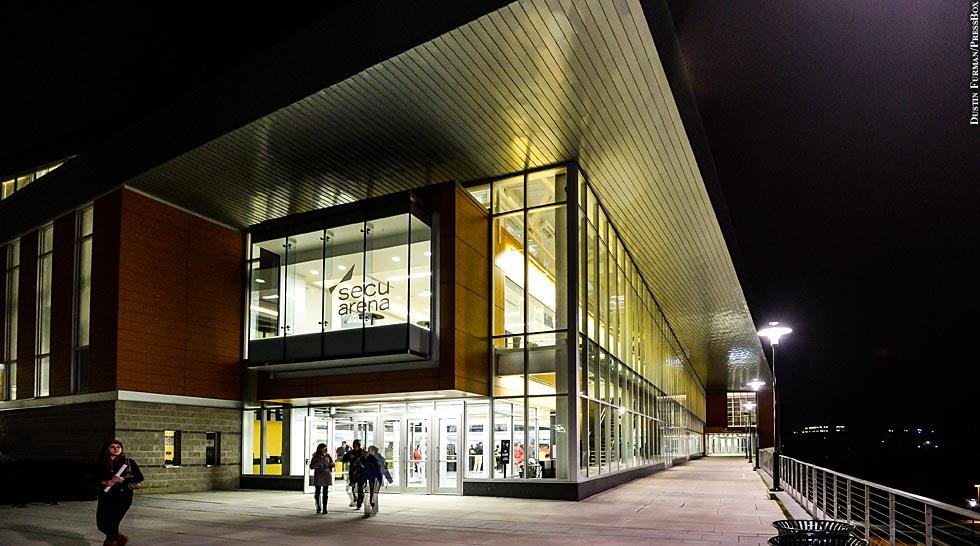 Towson Basketball 2014: SECU Arena