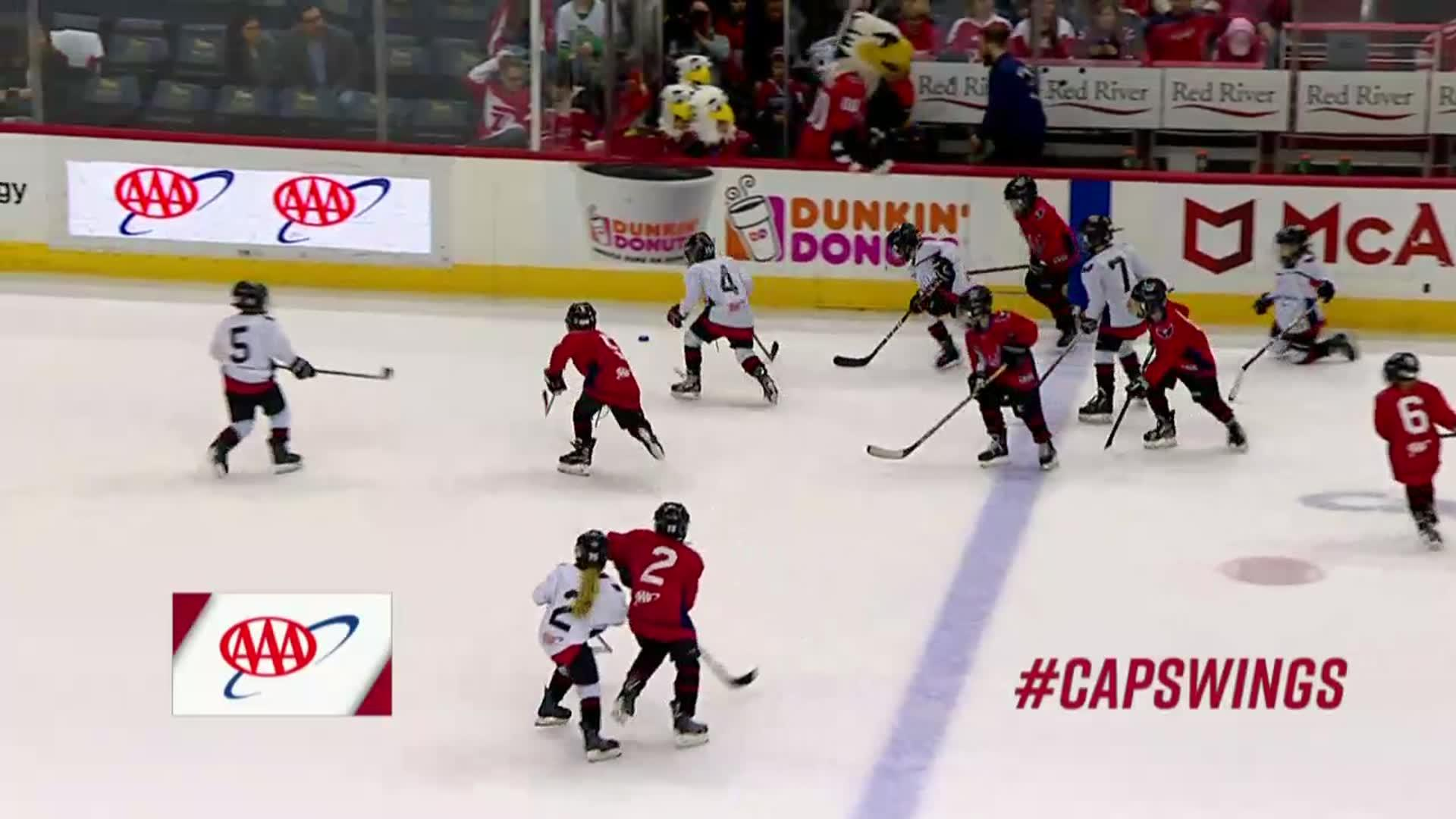#CapsWings Mites on Ice 2/11/18