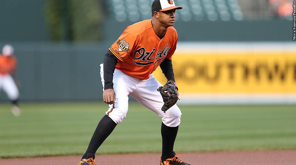 Orioles 2014: Jonathan Schoop (in field)