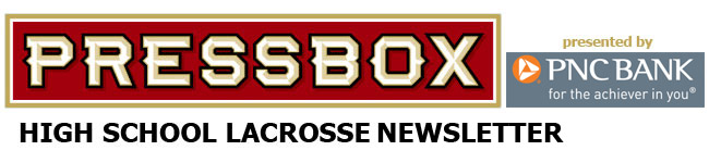 PressBox High School Lacrosse Weekly Newsletter Email header (PNC bank)