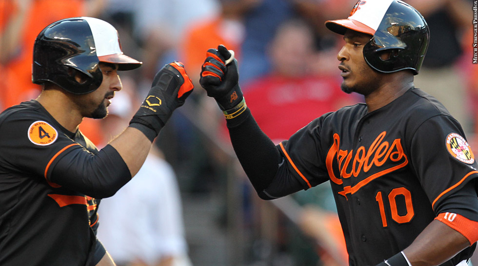 Issue 195: Orioles 2013: Nick Markakis, Adam Jones