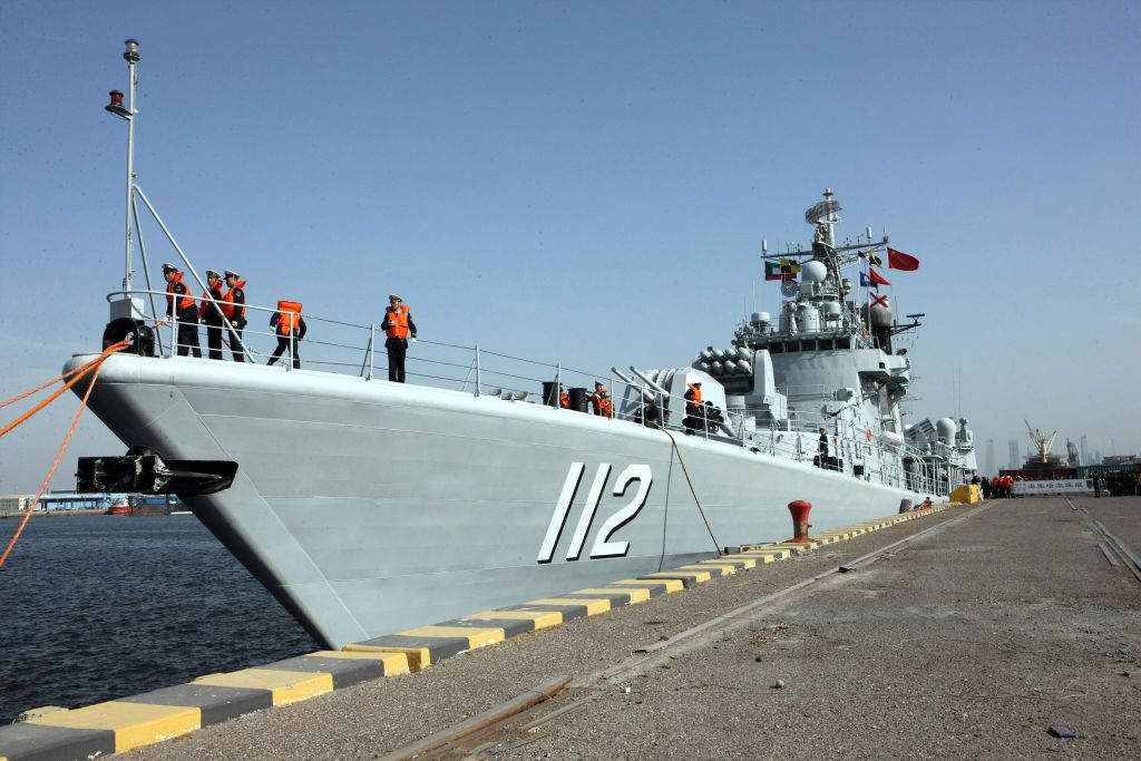 China sends troops to first overseas naval base in Djibouti