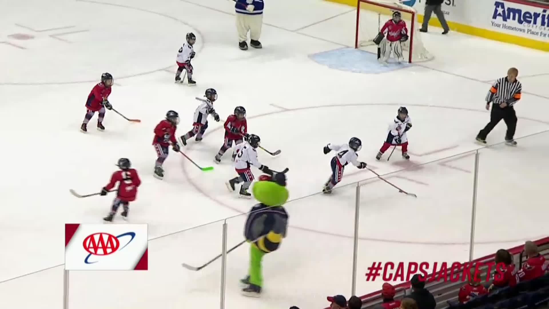 #CapsJackets Mites on Ice 12/2/17