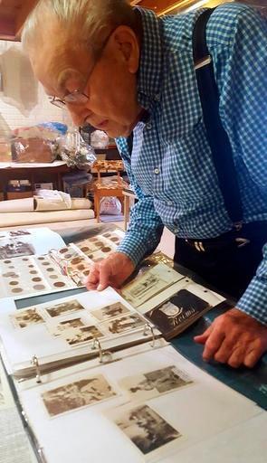 Ralph Rossman memorabilia