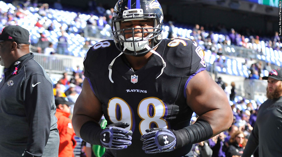 Ravens 2014: Brandon Williams (Week 7 vs. Falcons)