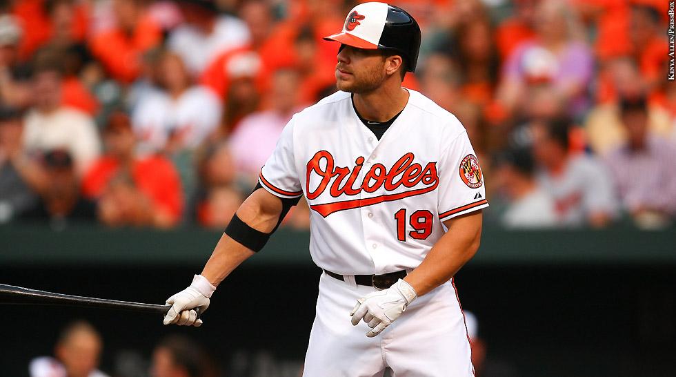 Orioles 2015: Chris Davis (bat out)