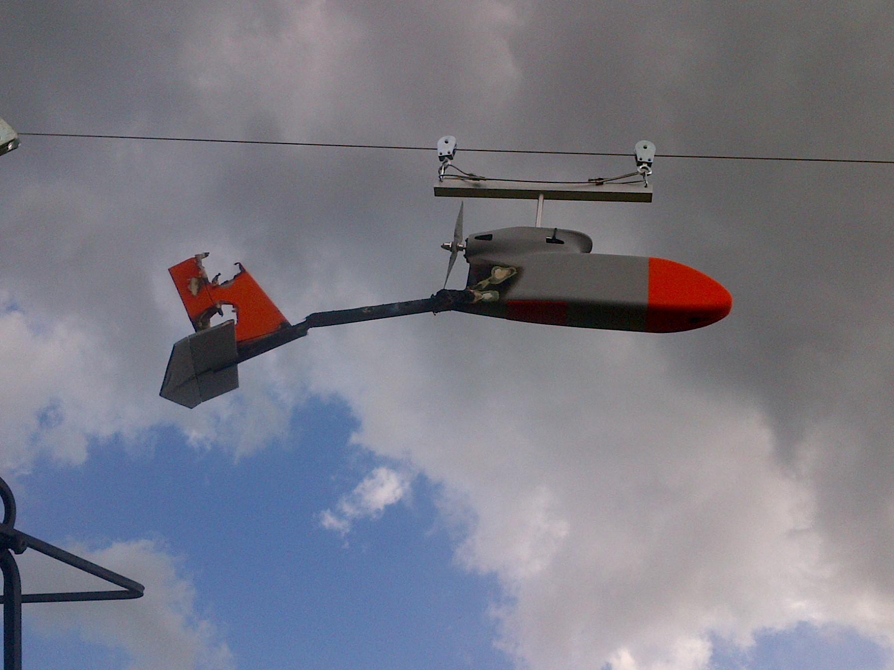 Teathered UAV