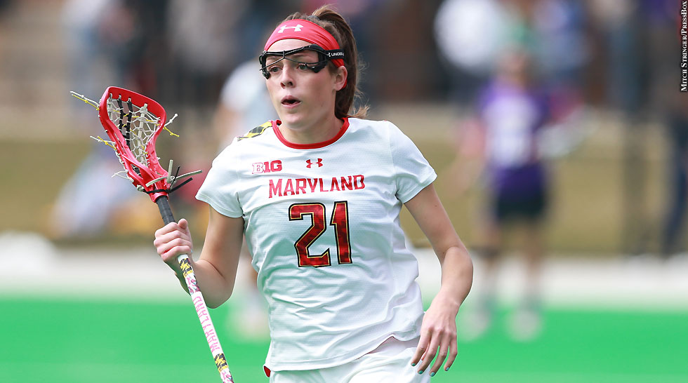 Terps Maryland Women's Lacrosse 2015: Taylor Cummings (March 21, No. 3)