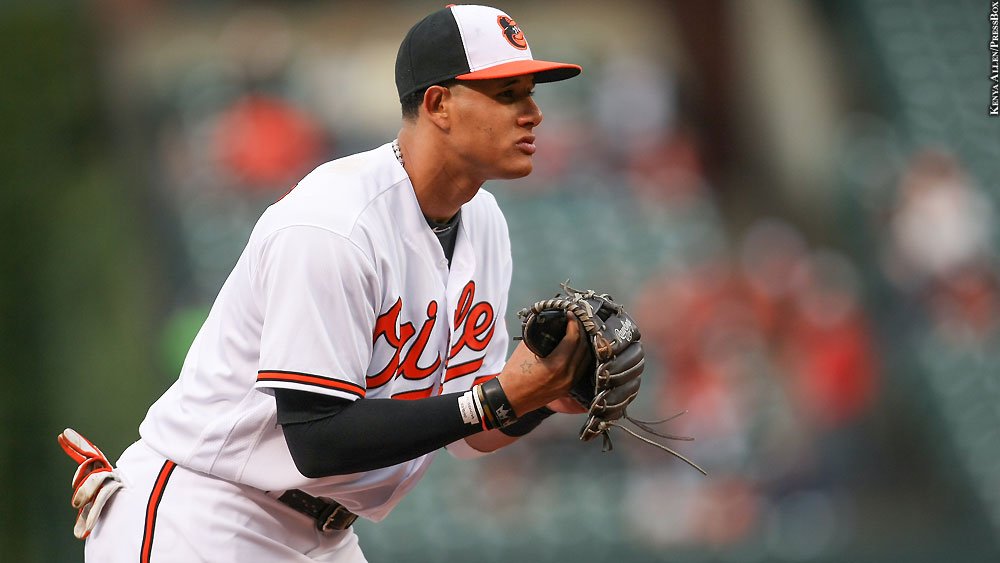 orioles manny machado on kevin gausman hes supposed to