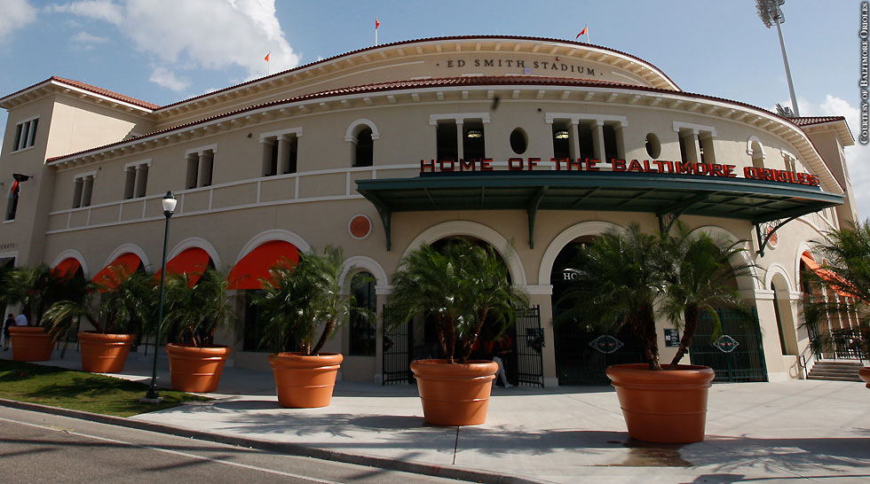 Issue 206: Orioles Spring Training In Sarasota: Ed Smith Stadium