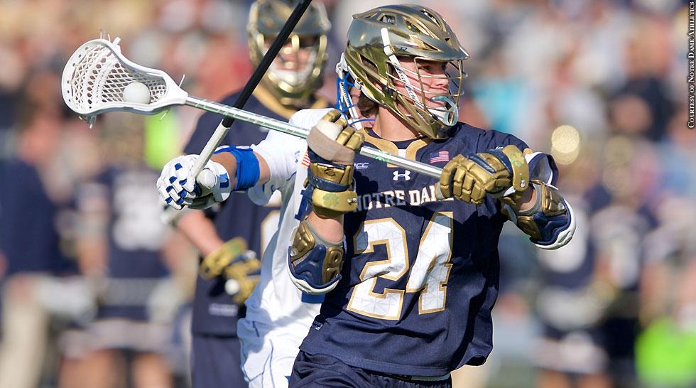 Notre Dame Lacrosse 2015: Mikey Wynne