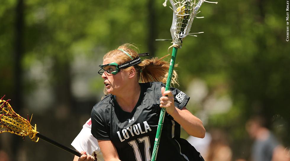 Loyola Lacrosse 2015: Annie Thomas