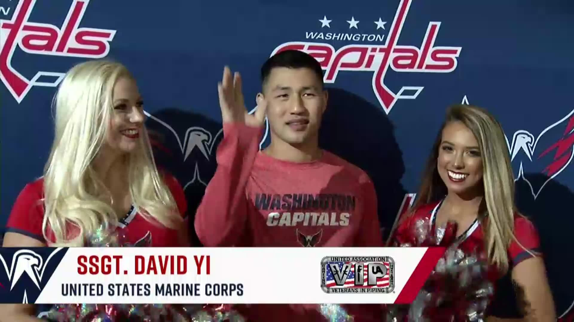 #CapsCats Salute to the Troops 10/21/17