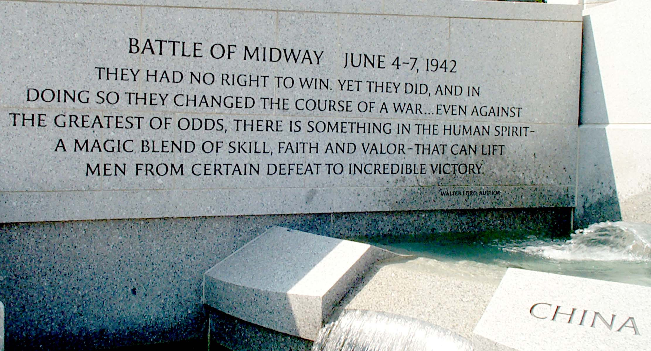 Battle of Midway Quote