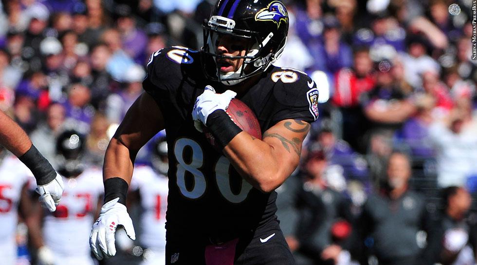 Ravens 2014: Crockett Gillmore (Week 7 vs. Falcons)