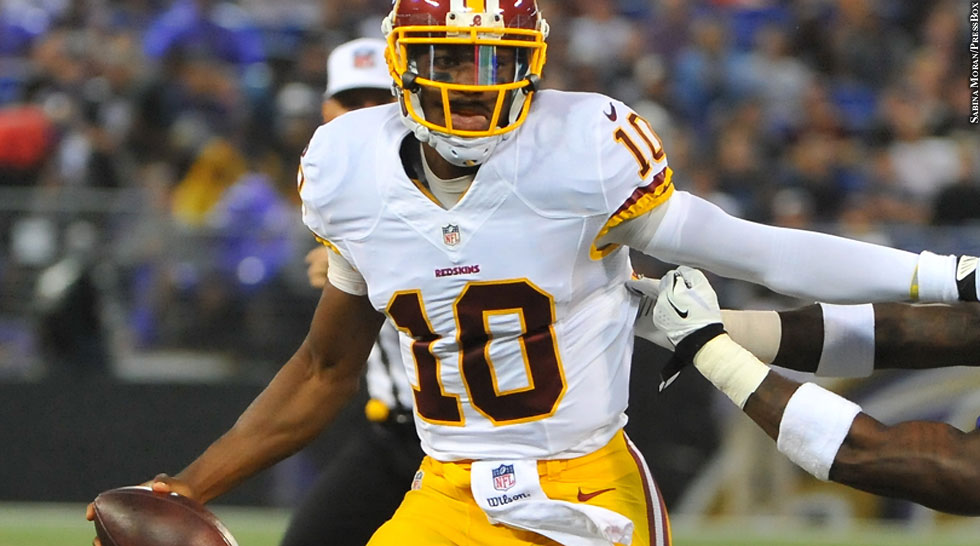 Redskins 2014: Robert Griffin III (preseason vs. Ravens)