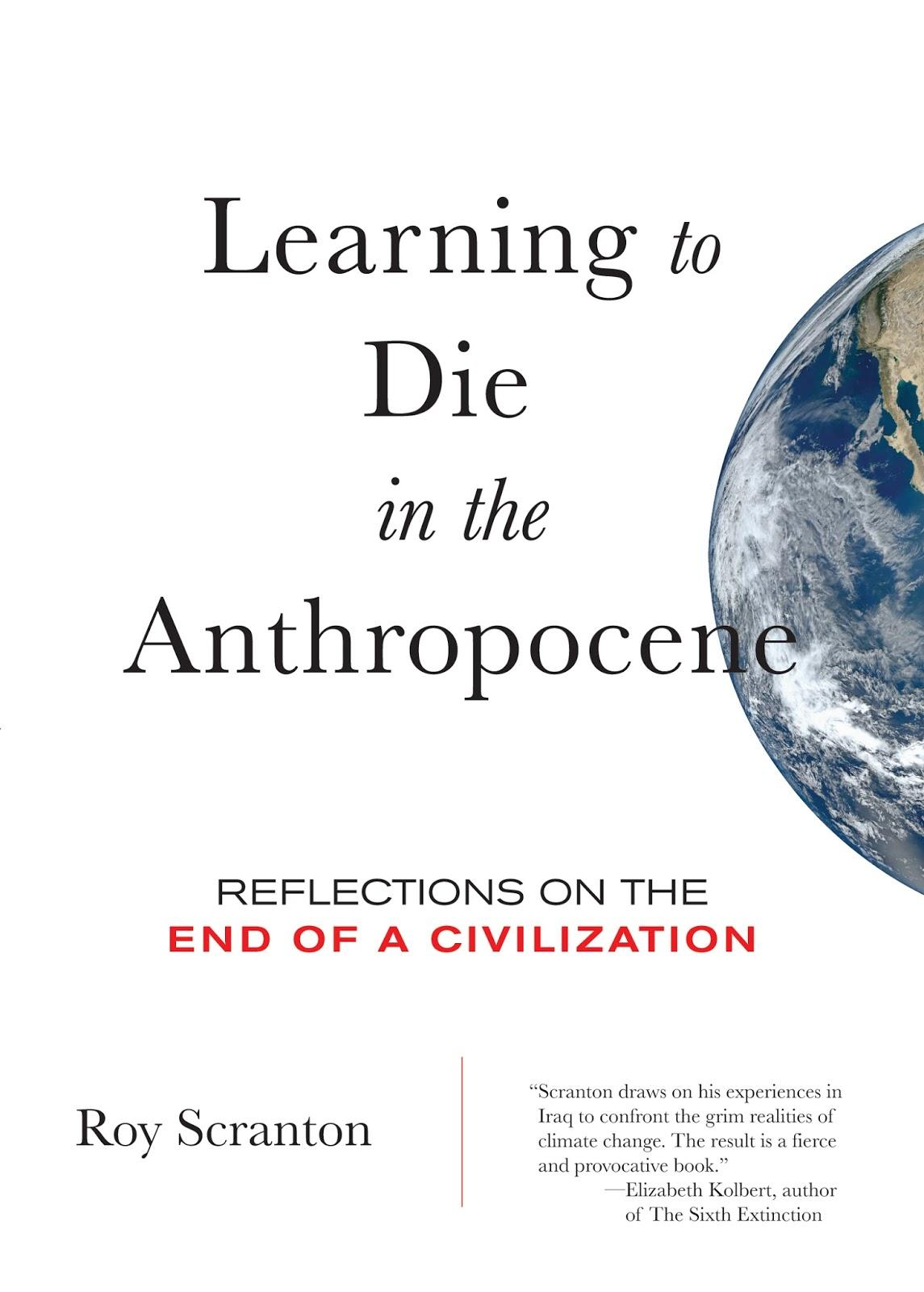 OFF Learning to Die in the Anthropocene