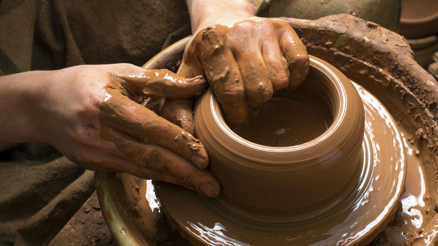 the potter u2019s wheel and metallurgy