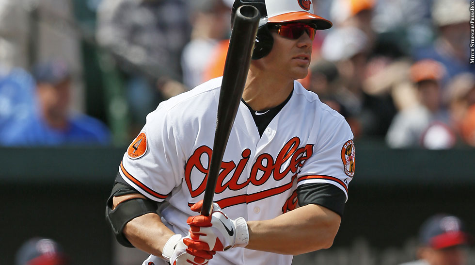 Orioles 2013: Chris Davis (after swing)