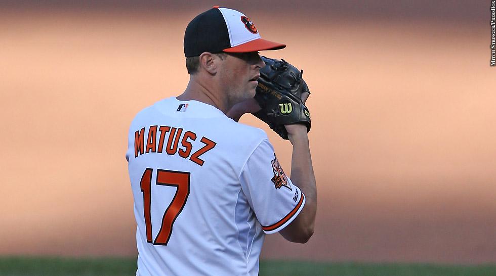 Orioles 2014: Brian Matusz (set)
