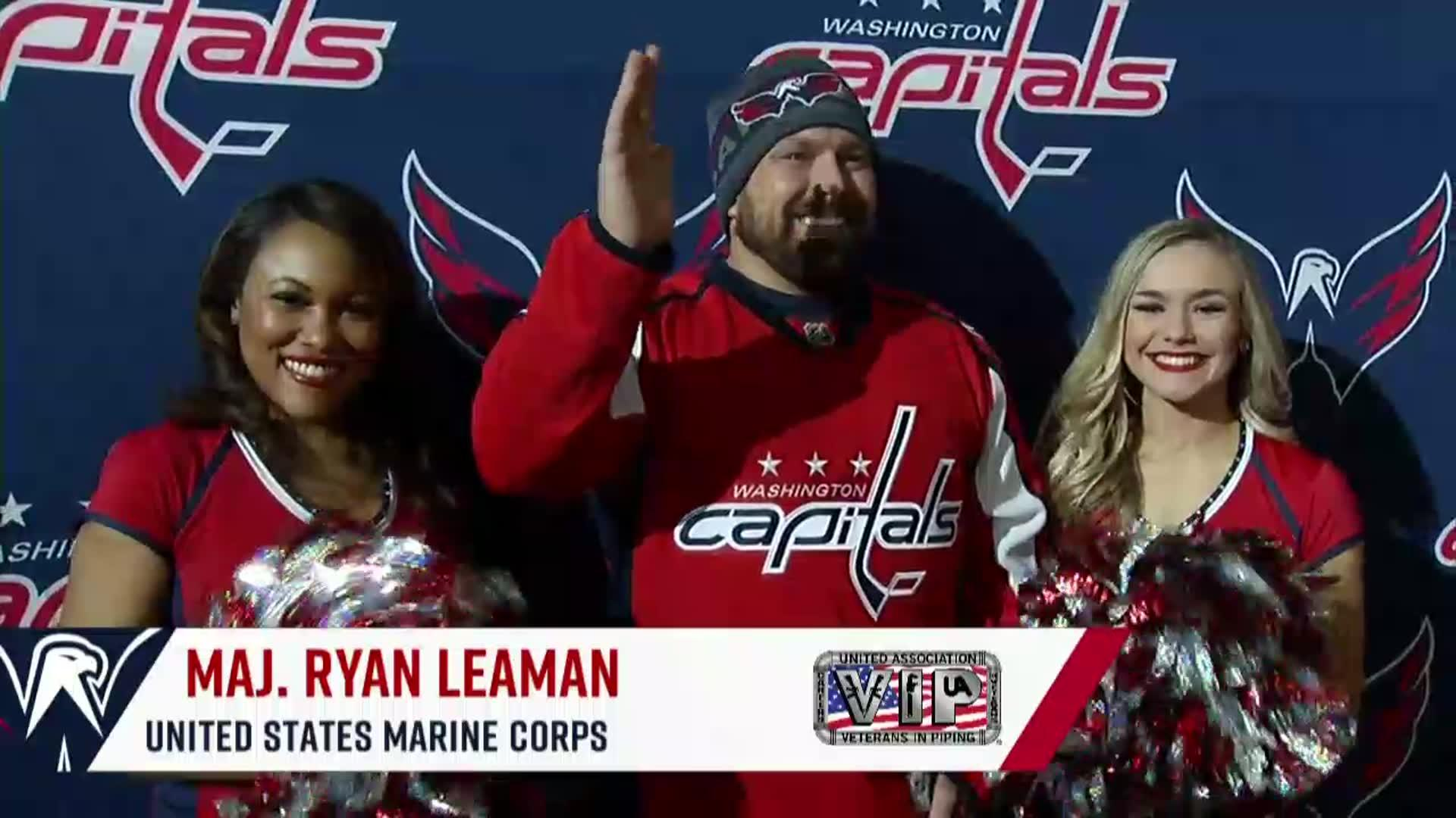 #CapsFlyers Salute to the Troops 1/31/18