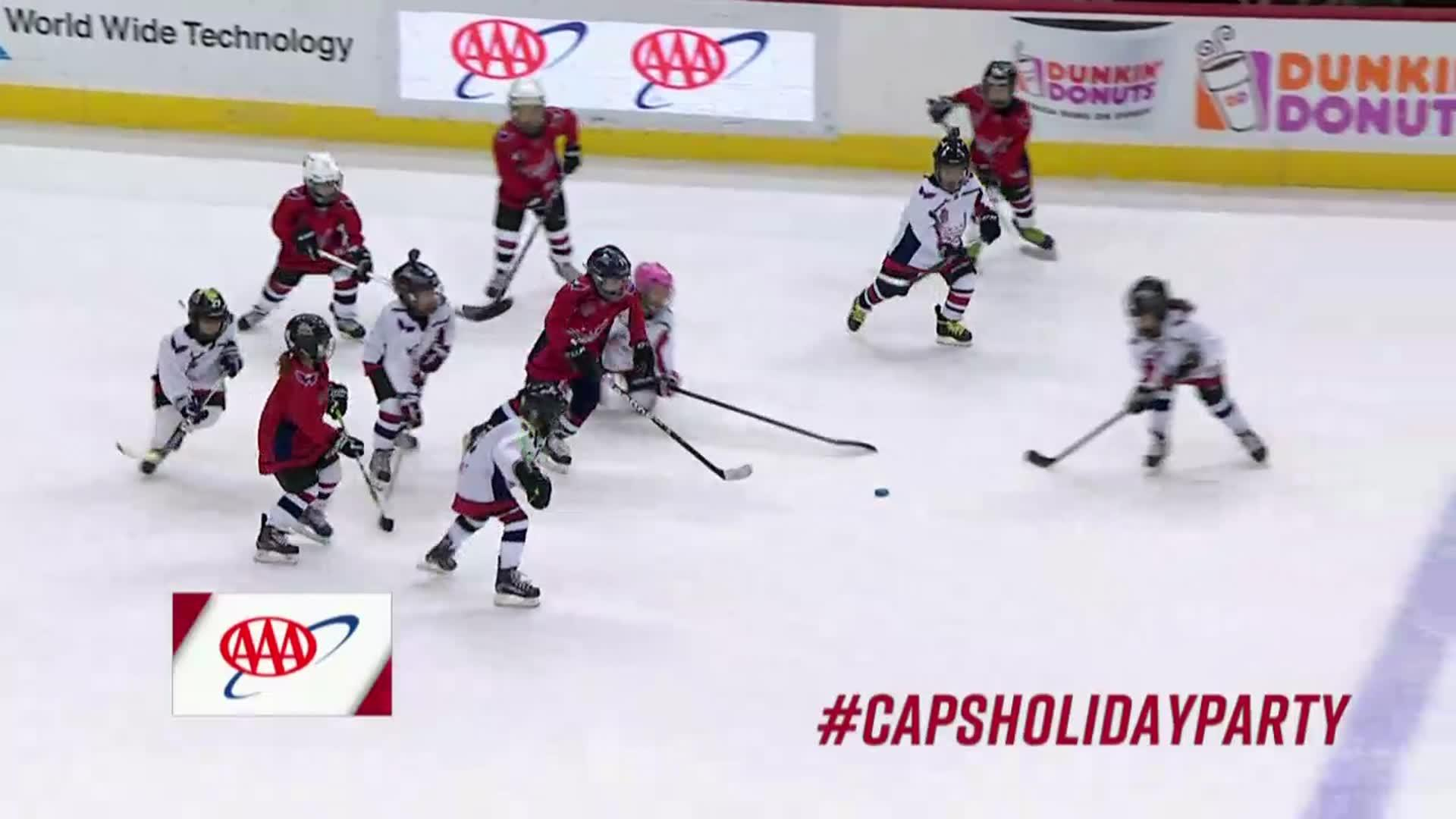 #CapsDucks Mites on Ice 12/16/17