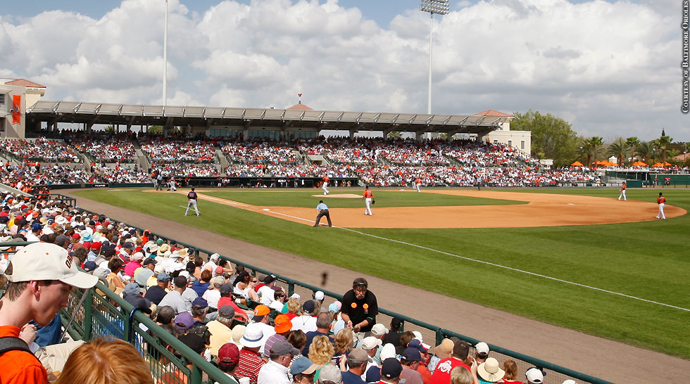 Issue 206: Orioles Spring Training In Sarasota: Field