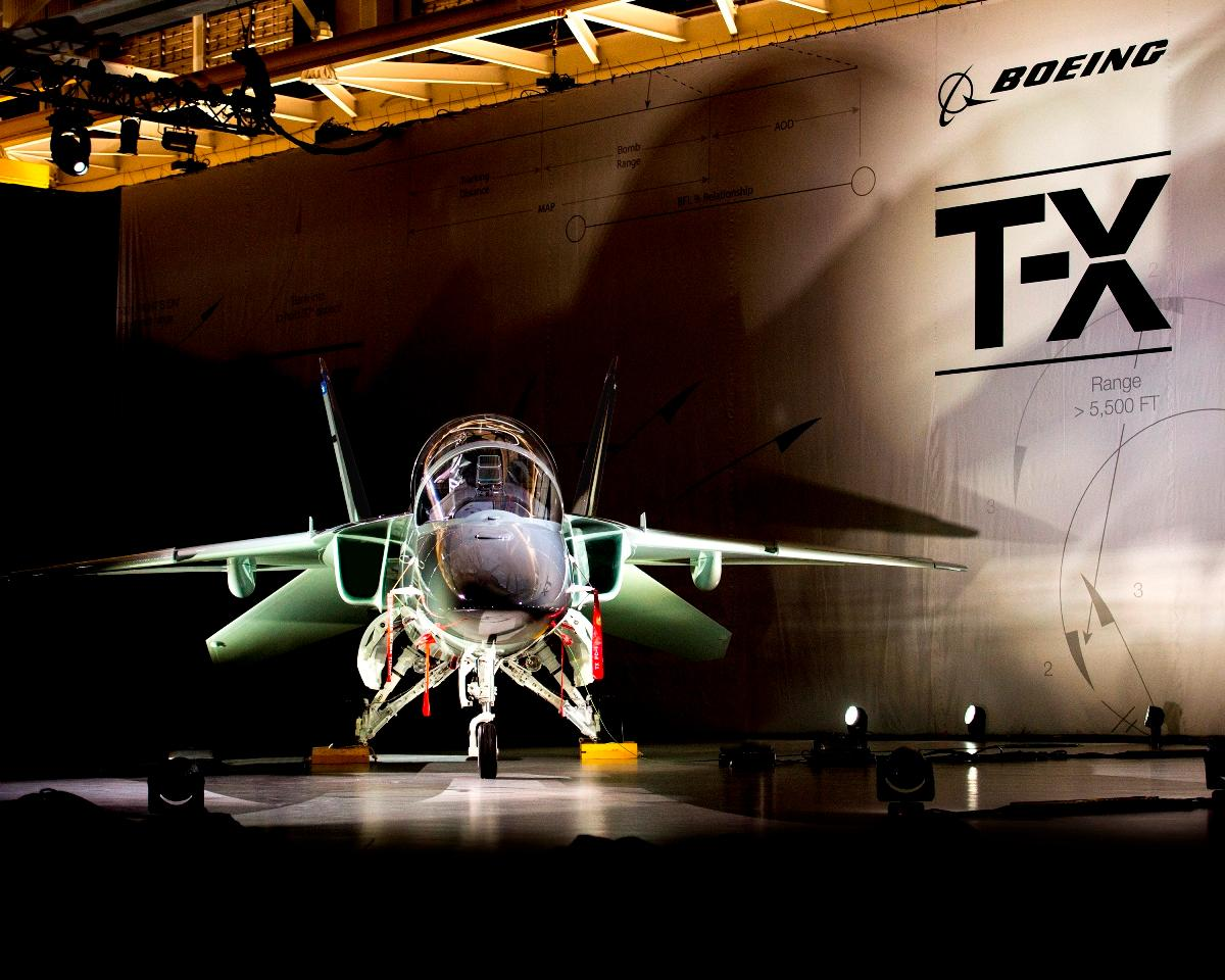 Boeing Unveils T-X Advanced Trainer Aircraft