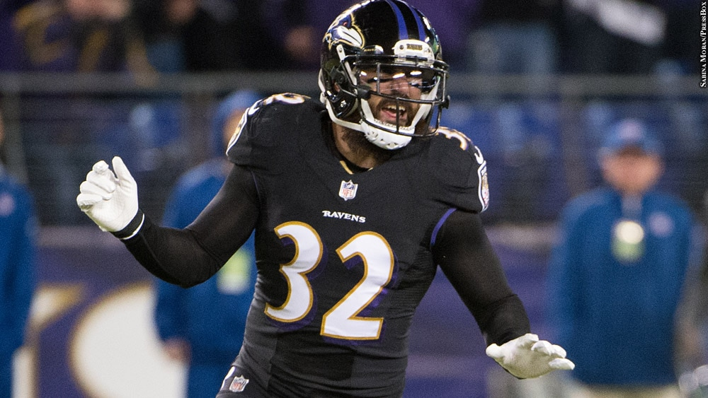 Issue 240: Eric Weddle (on the field)