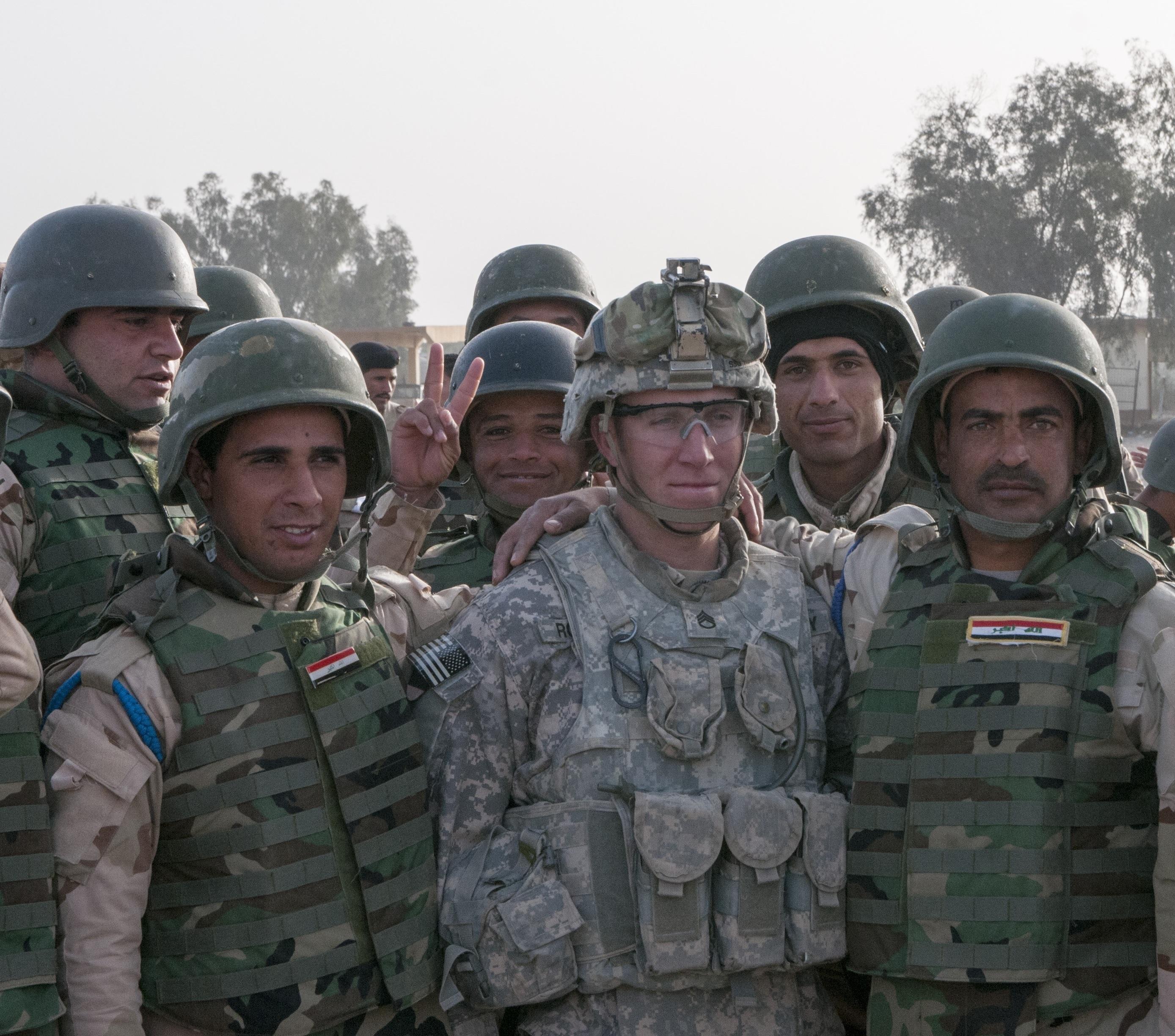 U.S. training Iraqi forces