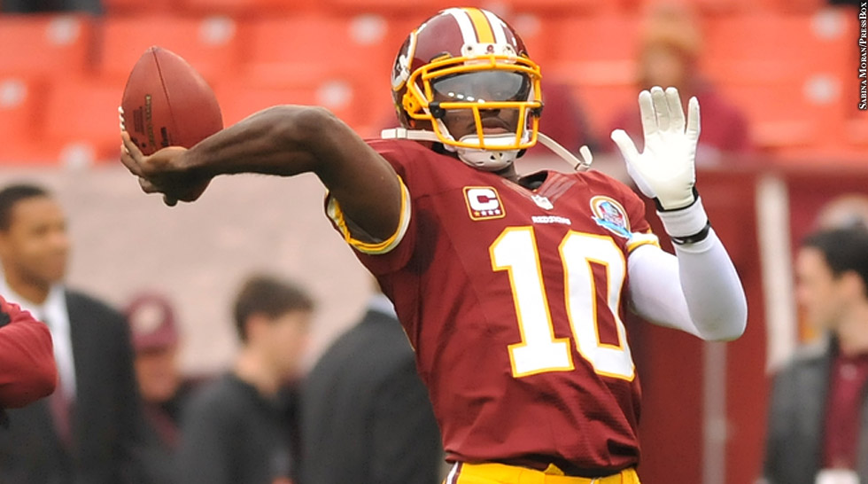Redskins 2012: Robert Griffin III (throwing)