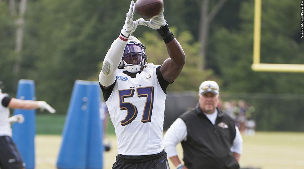 Ravens 2015: C.J. Mosley (training camp)