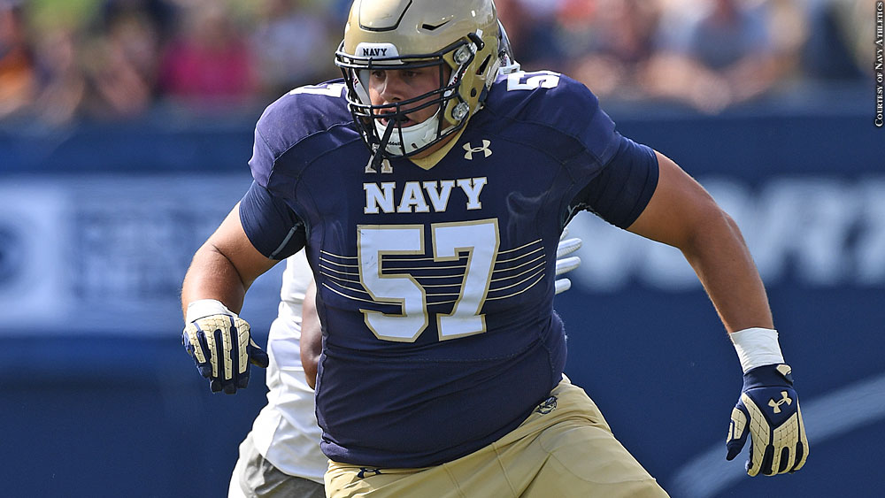 Issue 227: Navy Football 2016: Jacob Hawk